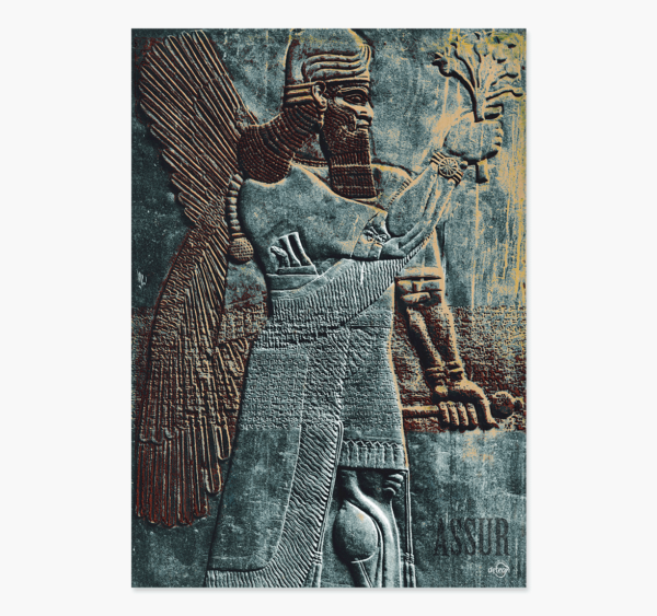 foto Nimrud assyrien