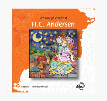 HC Andersen eventyr – malebog