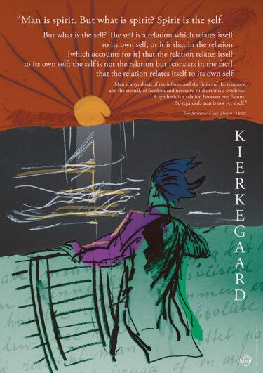 Kierkegaard quote about spirit